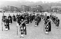Massed band 1969-75